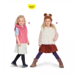 Lõige lapsele pikkusega 92-122cm, Burda Style Nr. 9333