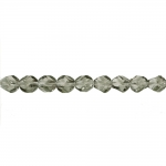 Traditional Czech glass faceted beads, Jablonex, 8mm