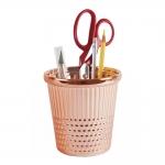 Sõrmkübara kujuline keraamiline tops pliiatsitele jms tarvikutele, ø20x20cm, rose gold, Hemline H4910