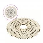 Circular weaving looms, knitters looms, 5 pcs: inner ø27,5cm, ø21,5cm, ø17cm, ø12,5cm, ø7,5cm, Trimits TTW002