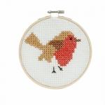 Наборы для вышивки крестом, ø13см, Robin, Trimits GCS09