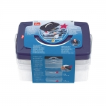 Stackable plastic box system, Prym 612 403