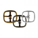 Metal buckle, 21x20 mm for belt width 14 mm