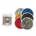 Glitter Flakes (1x1mm powder), 50g, Trimits