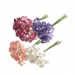 Blossom Flowers: Paper: 18mm: Pack of 12pcs, Bridal