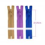 Alt kinnised plast-hammaslukud, traktorlukud, 8 mm, 22 - 25 cm, Coats Opti