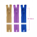 Alt kinnised plast-hammaslukud, traktorlukud, 8 mm, 47 - 50 cm, Coats Opti