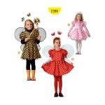 Lõiked lastele pikkusega 98-128; Burda Style Nr. 2386