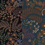 Dekoratiivkangas prinditud mustriga, Thevenon, Art. 22136 Phoenix
