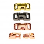 Metal buckle, 15 mm x 33 mm for belt width 10 mm