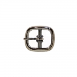 Metal buckle, 15x17 mm for belt width 7-8 mm