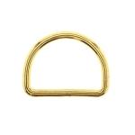 D-ring, half ring 37 mm x 23 mm for belt width 25 mm