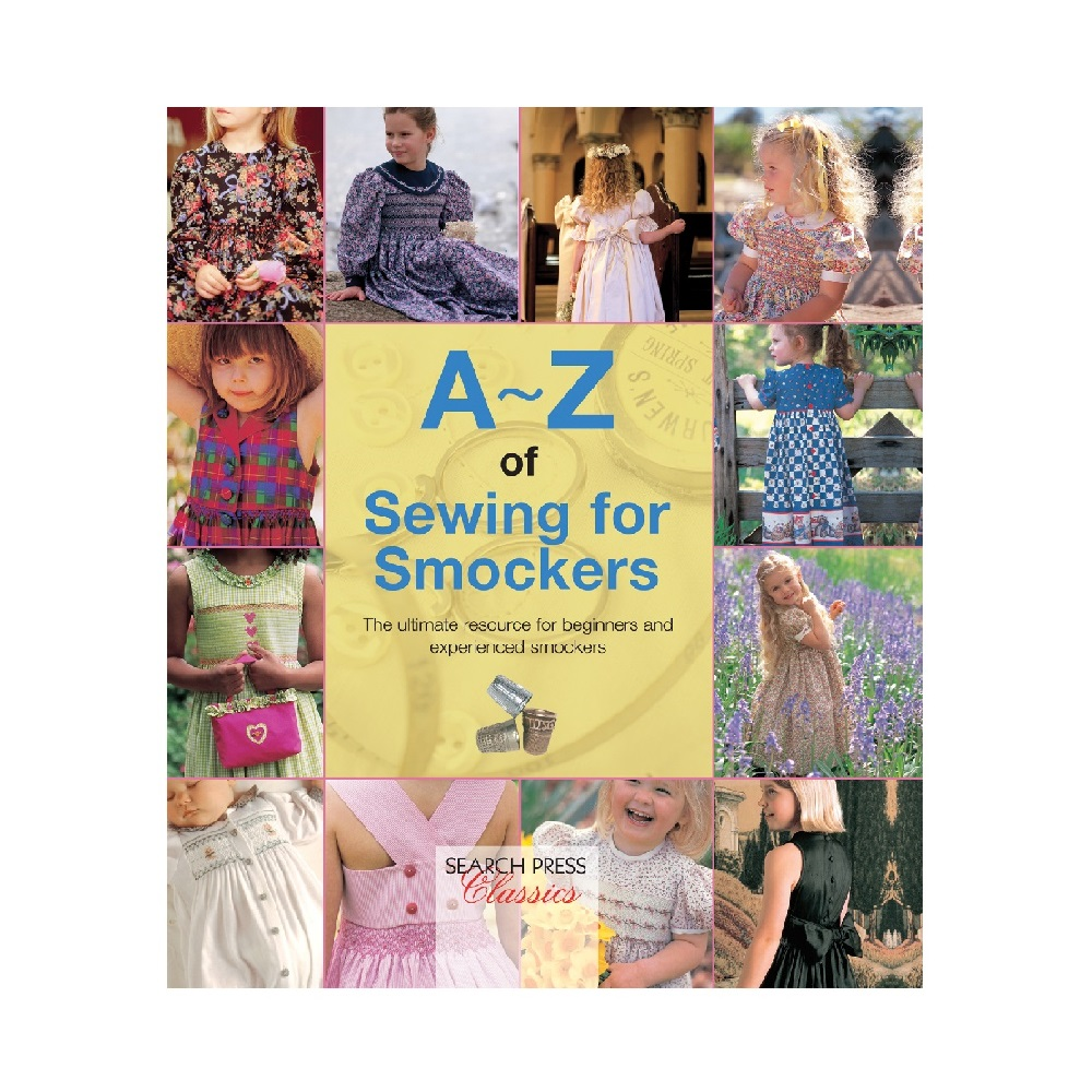 """Raamat """"A-Z of Sewing for Smockers"""""""