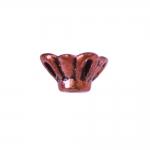 Lillekujuline, ehtekübar/plastpärl, CCB plastik, 7x5mm