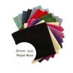 Фетровое куски, Непальская овечья шерсть, 15см x 15см, 5шт, Habico