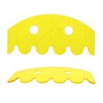 Šabloon-joonlaud vabakäe-teppimiseks, 25,5 cm × 12 cm, Hobby Quilt CVSC