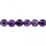 Traditional Czech round glass beads, Jablonex, 10mm