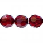 Ümmargune tahuline kristall ø18mm