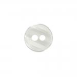 Pärlmutterläikega, kahe suure auguga plastiknööp, 20mm/32L