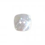 Kandiline, kahe auguga teokarbist nööp, 15mm/24L