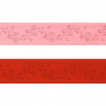Jacquard satin ribbon, 38mm, Art. 38967