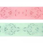 Jacquard satin ribbon, 64mm, Art.94964