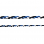 Blue-Black-White Cord