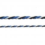 Сине-черно-белый шнур