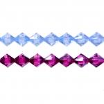 Rombikujuline tahuline kristall 8mm