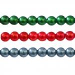 Ümarad värvilised plasthelmed ø5 mm