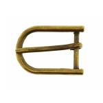 Metal buckle, 30x20 mm for belt width 15 mm