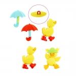 3D Button 5 pcs set, max 3 cm, Dress It Up #8978 (USA)