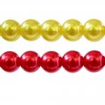 Ümarad värvilised plasthelmed ø10 mm