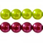 Ümarad värvilised plasthelmed 12mm