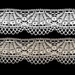 Cotton Crochet Lace 1814, 6,5 cm