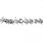 Roosiõiekujuline alumiiniumhelmes 8mm