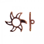 Toggle Clasp with Sun Design / 20mm