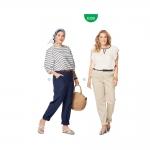 Püksid Nr. 46-60, Burda Style Nr. 6309