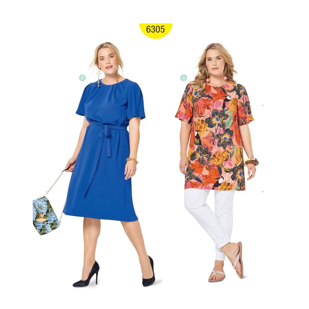 Kleit Nr. 46-60, Burda Style Nr. 6305