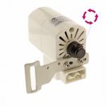 Мотор (электропривод) для оверлока или швейной машины, 220-230V, движение против часовой стрелки, 120W, 6000/min, VGK WM-298D-9S