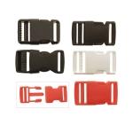 Plastic buckle, 60 mm x 32 mm for belt width 25 mm