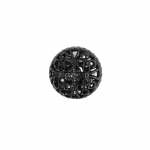 Pitsiline, õhuline, ümar, kannaga metallnööp, 16mm; 24L