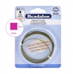 Messingtraat, kandiline, 22 ga, 0,64 x 0,64 mm, 3,5 m, Beadalon 180R-222