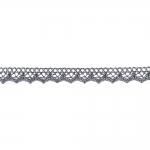 Decorative Metallic Lace KN-0156, 1,3 cm