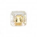 Kandiline kristallilaadne akrüülnööp 10mm, 16L