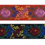 Roosiõitega dekoratiivpael laiusega 65 mm, Art. 17169