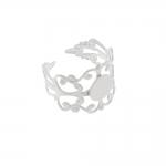 Sõrmusetoorik pitsiline tiaarat meenutav / Lacey Finger Ring Base / 21mm