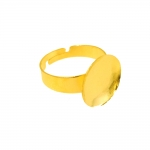 Sõrmusetoorik ümara kumera plaadiga / 15mm