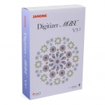 Tikkimisprogramm Janome Digitizer MBX V5.5 CorelDRAW+Wilcom