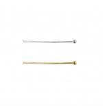 Ümara peaga ehtenõel, Round Head Pin, 26mm